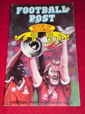 Football Post Book of Records #2 - Feb 1982
