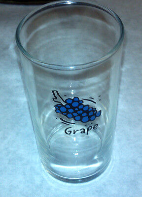 Grape Juice Grapes unique Glass Highly Collectible