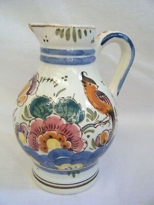 Vintage Collectible Handpainted Holland Pottery Creamer