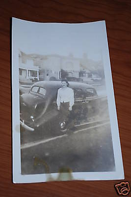 RARE 1936 BUICK VINTAGE PHOTO-1 OF A KIND- 36