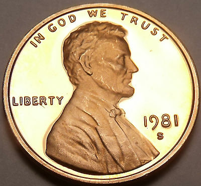 Gem Proof 1981-S Lincoln Cent~~Awesome~~Free Shipping~~