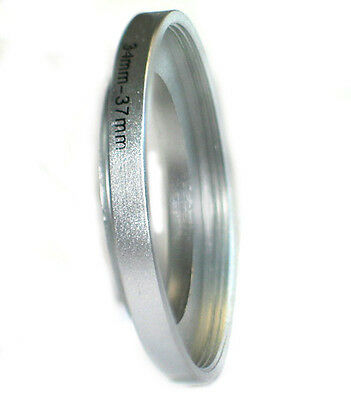 Step-up adapter ring 34-37 34mm-37mm Silver Metal NEW for Camera, from US Seller