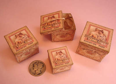 Mini 1:12 Scale French Hat Boxes-Kit-5