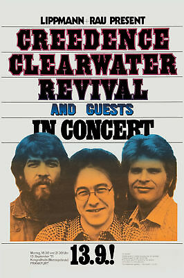 Creedence Clearwater Revival  German Concert Poster 71