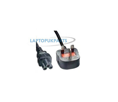 C5 Cloverleaf 3 Pin Mains Cables Power Lead For Uk