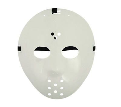 White Hockey Jason Voorhees Mask Friday 13th Halloween