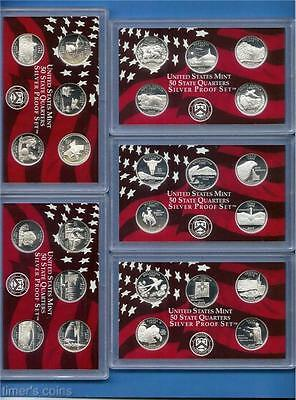 1992 through 2011 Silver Proof Quarter Set - 73 COINS