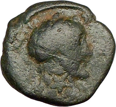 ANTONINUS PIUS Marcus Aurelius Father Zeugma Ancient Roman Coin TEMPLE i22908