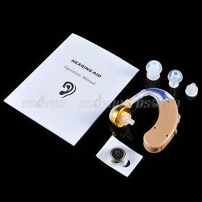 Digital Tone Hearing Aids Aid Behind The Ear Sound Adjustable Amplifier New