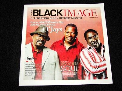 Vegas Black Image Magazine The O'Jays Exclusive Issue February 2011