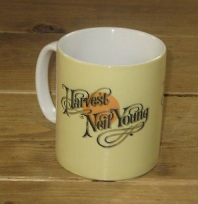 Neil Young Harvest Advertising MUG