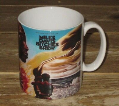 Miles Davis Bitches Brew Advertising MUG