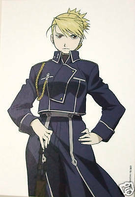 Fullmetal Alchemist postcard official anime