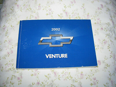 2002 chevy venture owners manual