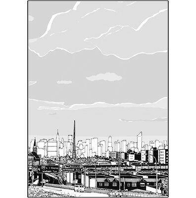 Pack of 10 New York City Note Cards & Envelopes - NYC Skyline, No. 20