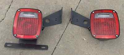 1999 2012 Ford Box Van Truck Cutaway Trailer Tail Lights New Factory Oem Grote