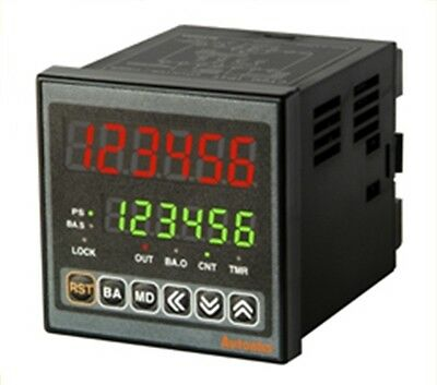 Digital Timer+Counter AUTONICS CT6M-2P4 Dual preset Batch counting