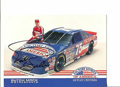 Todd Bodine NASCAR Sprint Cup Nationwide Truck Driver Signed Autograph Photo