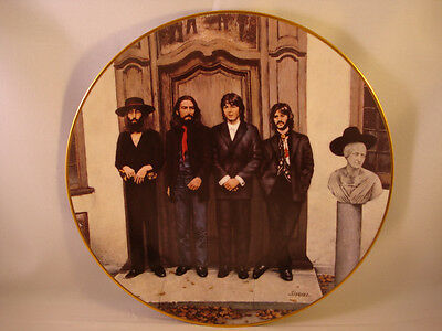 The Beatles **Hey Jude Plate** Numbered Limited Edition