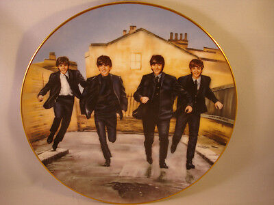 The Beatles **A Hard Day's Night Plate** Numbered Limited Edition