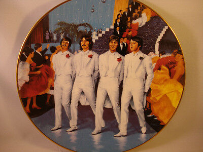 The Beatles **Magical Mystery Tour Plate** Numbered Limited Edition