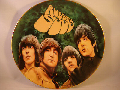 The Beatles **Rubber Soul Plate** Numbered Limited Edition