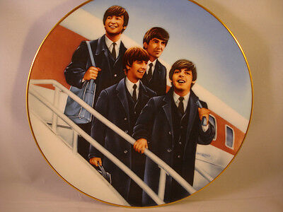 The Beatles **Hello America Plate** Numbered Limited Edition