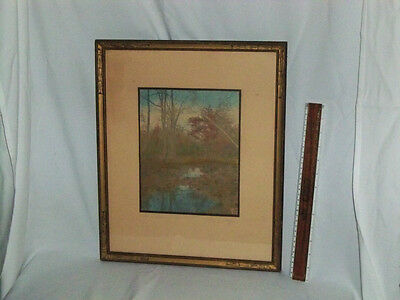 "Signed Wallace Nutting ""The Depth of The Wood"""