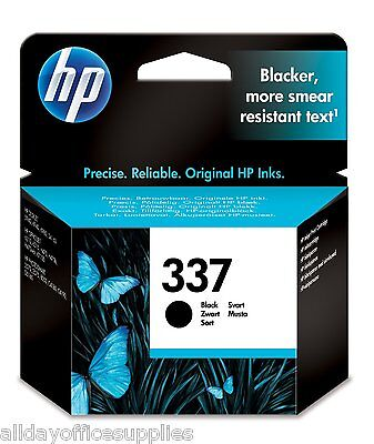 HP 337 / No.337 ( C9364 / C9364EE ) Black Ink Cartridge BOXED , NEW , VAT INC