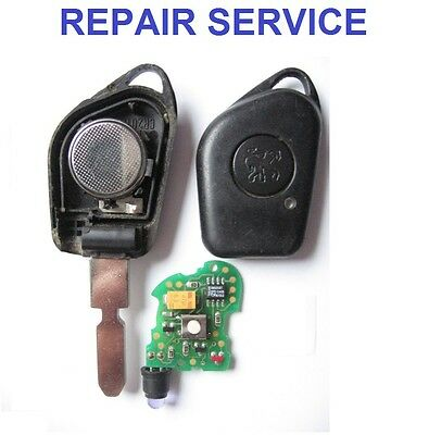 PEUGEOT 406 1 button Remote Key Fob Repair Service Including New
