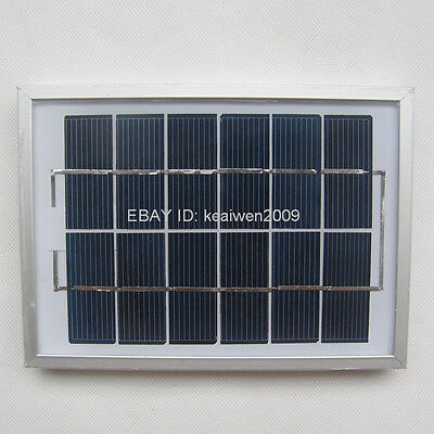 6V 340MA 2W solar panel solar charge solar power dc aa battery led solar panels
