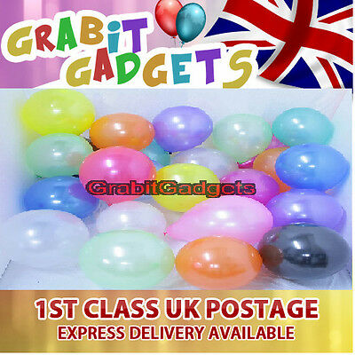 """25 x 10"""" HELIUM QUALITY PEARLISED LATEX BALLOONS, FOR SPECIAL OCCASIONS,"""