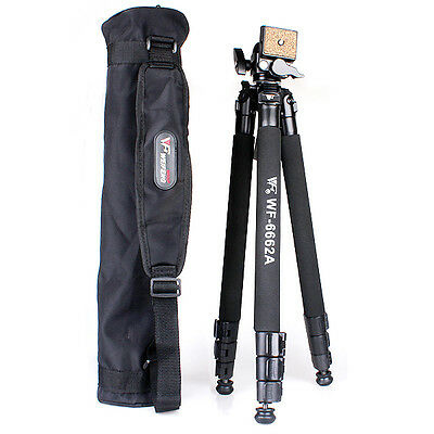 NEW Pro FT-6662A Camera Stand Tripod with Ball head bag