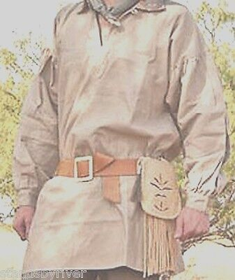 18th Century Frontier Pullover Shirt, Rendezvous Reenactment Clothing *