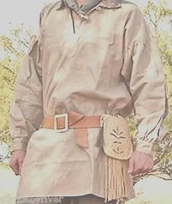 18th Century Frontier Pullover Shirt, Rendezvous Reenactment Clothing