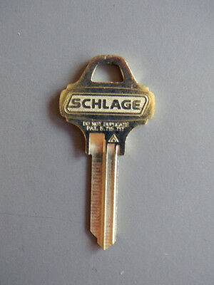 Schlage Everest C000 Control Key Blank- Grand Master