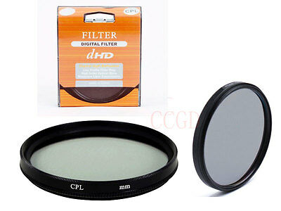 62mm CPL Circular Polarizing C-PL Filter for Canon Nikon Sony SLR Camera lens
