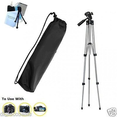 "Sakar 50"" TR9 PROFESSIONAL TRIPOD FOR  DIGITAL SLR,POINT & SHOOT AND CAMCORDRS"