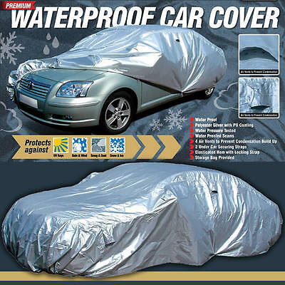 Maypole MP9334 Premium XL Extra Large PU Coated Vent Waterproof Full Car Cover