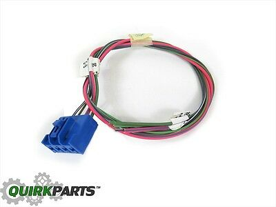 trailer brake control switch dodge ram  2001 2009 dodge ram 1500 2500 3500 trailer electronic brake wiring mopar oem