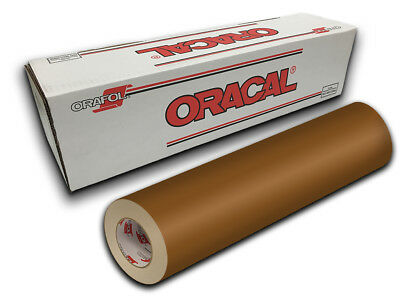 "24"" X 10yd - Copper Oracal 651 Intermediate Graphic & Sign Cutting Vinyl"