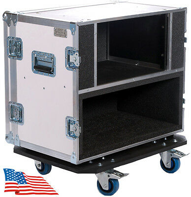 ATA Live in Style Single Head 6 Rack Space for Bad Cat BC 50w Flight Road Case