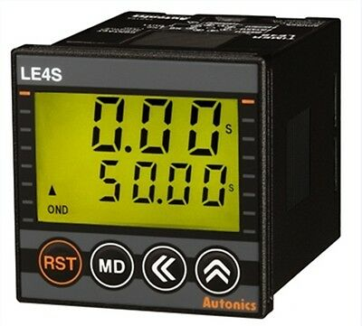 Digital Timer Autonics LE4S Relay SSR  Signal on start On/off Flicker Interval