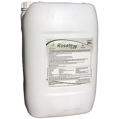 Rosate 360 TF Professional strength Glyphosate 20 litre