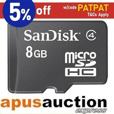 New SanDisk 8GB Class4 micro SD SDHC 8 GB micro SD HC Card microSD 8G