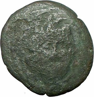 AMPHIPOLIS Ancient Rare Greek Coin GORGONEION ATHENA  NIKE 1stCentBC  i24079