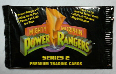 MIGHTY MORPHIN POWER RANGERS Series2 BOOSTER PACK
