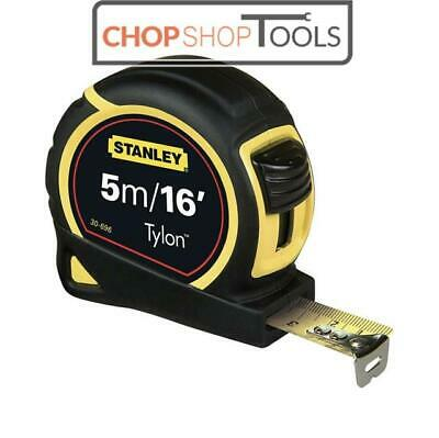 Stanley 5m/16ft Pocket Tape Measure with Tylon Blade 30-696