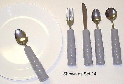 Eating Aids - BUILT-UP Weighted T-Spoon - For Parkinsons
