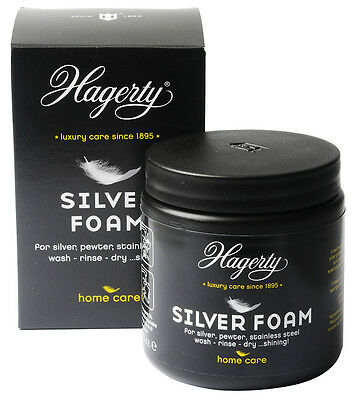 HAGERTY SILVER FOAM Silver Plate / Stainless Steel Jewellery Cleaning Dip